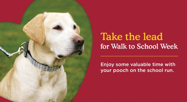 Take The Lead For Walk To School Week